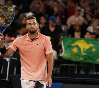 Kyrgios puts it in perspective as he advances