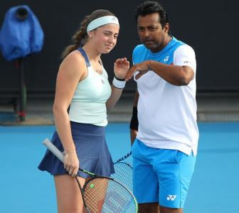 Paes bows out of Australian Open