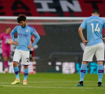 Guardiola at a loss for words as City lose to Saints