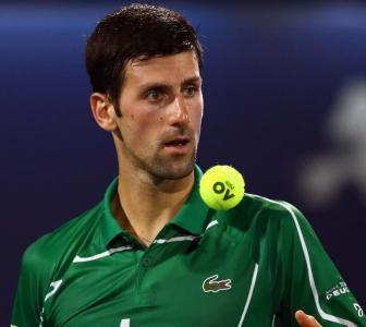 Novak wins compliment from James for basketball skills