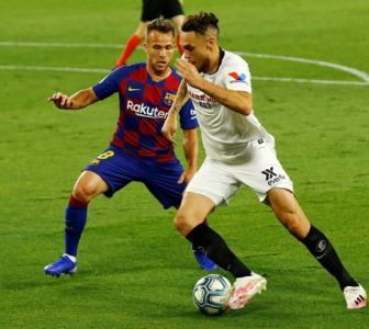 La Liga: Rusty Barca held to goalless draw at Sevilla