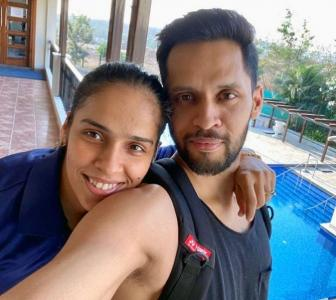 PIX: How Saina celebrated her birthday in 'isolation'