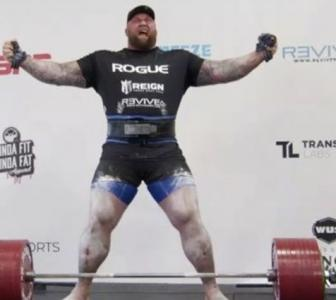 Game of Thrones star deadlifts 501kg to set new record