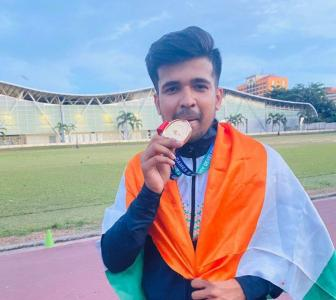 COVID-19: Young shooter donates to fellow athletes