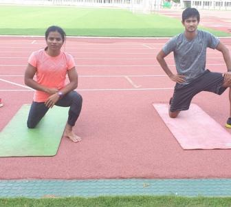 Training of athletes should start in staggered manner