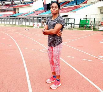 Dutee resumes outdoor training amid 'uncertainty'