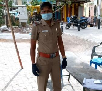 India footballer Indumathi dons COVID-19 role