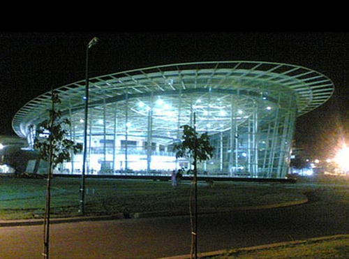 Infosys campus at Pune.