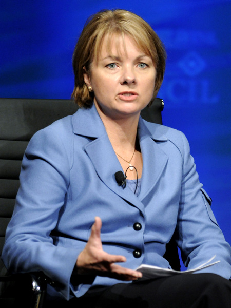 Wellpoint Chair, President and CEO Angela Braly.