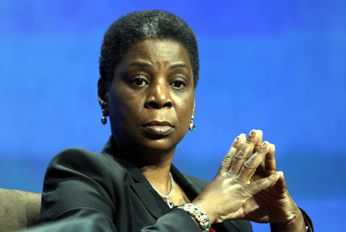 Xerox Chairman and CEO Ursula Burns during a CES Innovation Power Panel.