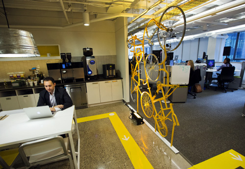 A tour of the new Google office in Toronto