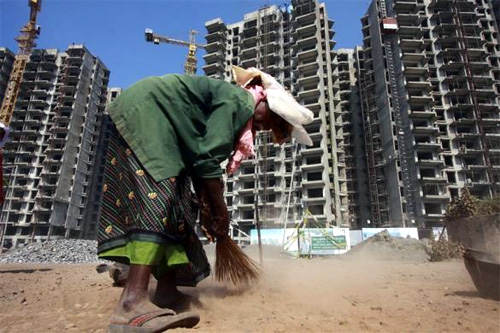 Due to a general slowdown, realty sector may not be able to provide that many jobs.