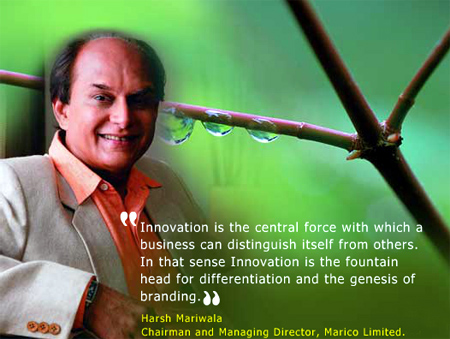 Harsh Mariwala, CMD, Marico Limited.