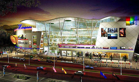 Z Square shopping Mall.