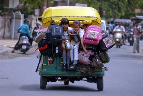 How travelling becomes a struggle in India