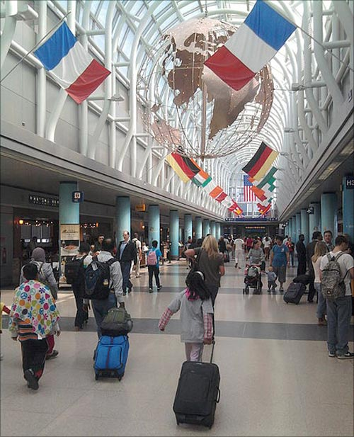 O'Hare International Airport.