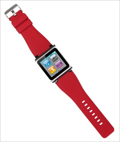 iWatchz Q Series watchband for iPod nano.