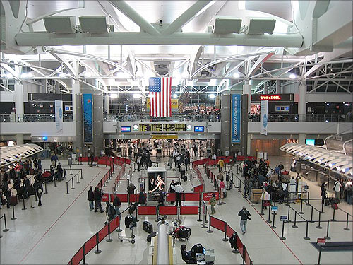 John F Kennedy International Airport.