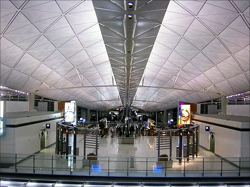 Hong Kong International Airport.