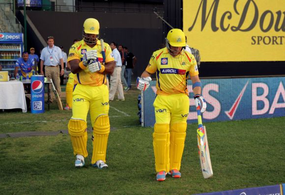 Dwayne Smith and Brendon McCullum