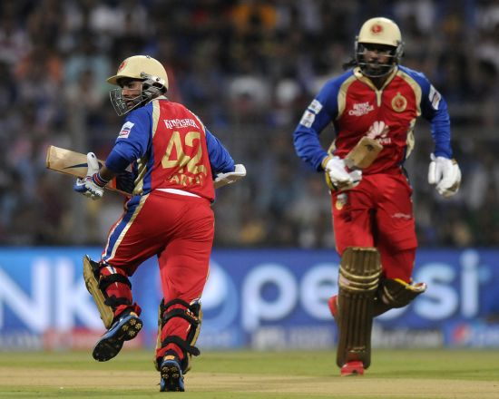 Parthiv Patel and Chris Gayle