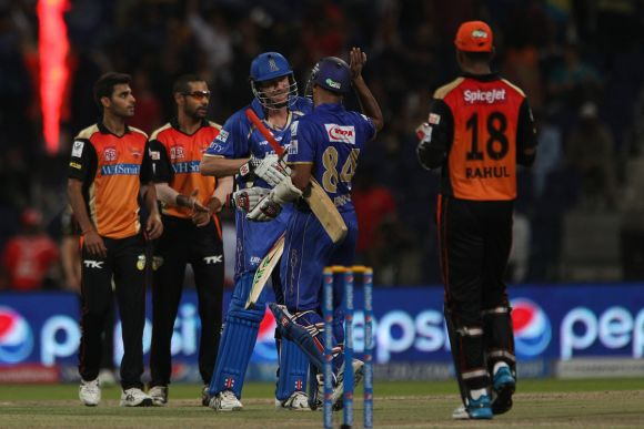 IPL PHOTOS: Rajasthan hold nerve to beat Hyderabad