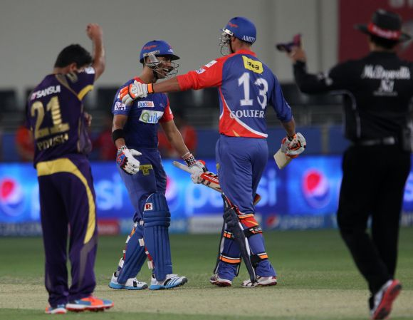 IPL PHOTOS: Duminy's cameo guides Delhi home