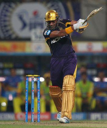 Uthappa, Shakib help Kolkata thrash Chennai by 8 wickets