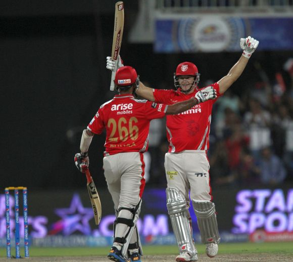 IPL PHOTOS: Maxwell, Miller blast Kings XI Punjab to stunning victory