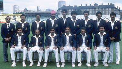 Sunil Valson - Only player not to get a game in 1983 WC