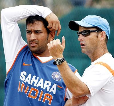 Mahendra Singh Dhoni led India to the 2011 World Cup while Gary Kirsten was coach of the team