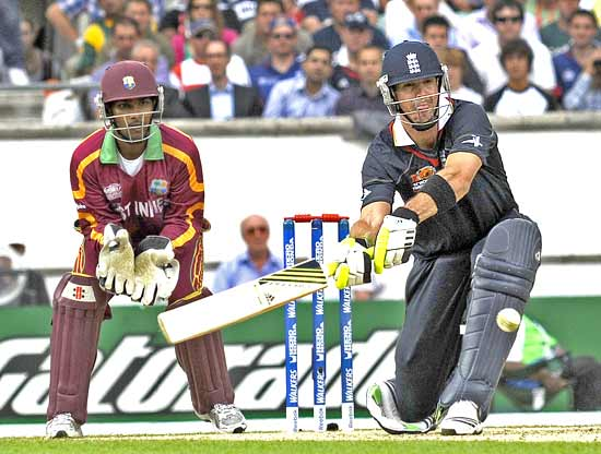 Kevin Pietersen scored a quick 31 off 19 balls