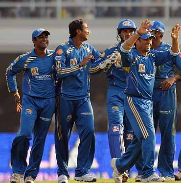 Mumbai Indians team
