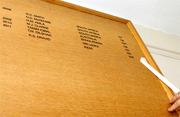 The Lord's Honours Board