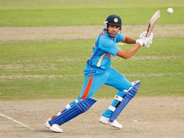 Rohit Sharma in action against Sussex on Thursday