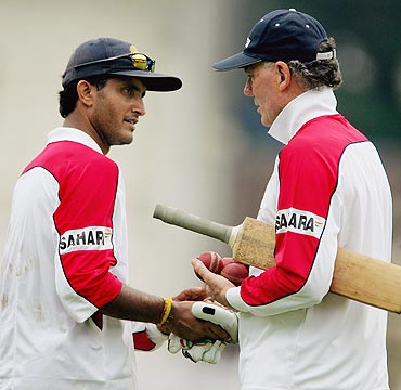 Chappell's plotting won't benefit hosts much: Ganguly