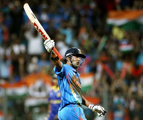 Gambhir shot up on the scales of being next India captain