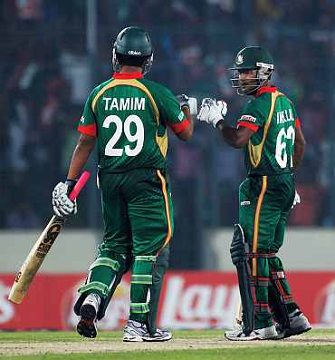 Tamim Iqbal and Imrul Kayes