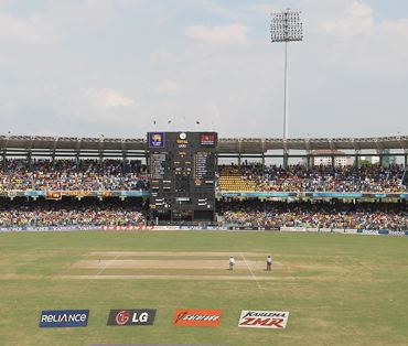 A general view of the Premadasa stadium