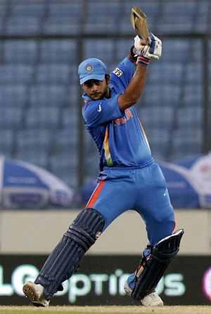 Virat top Indian batsman in T20s; Balaji best bowler
