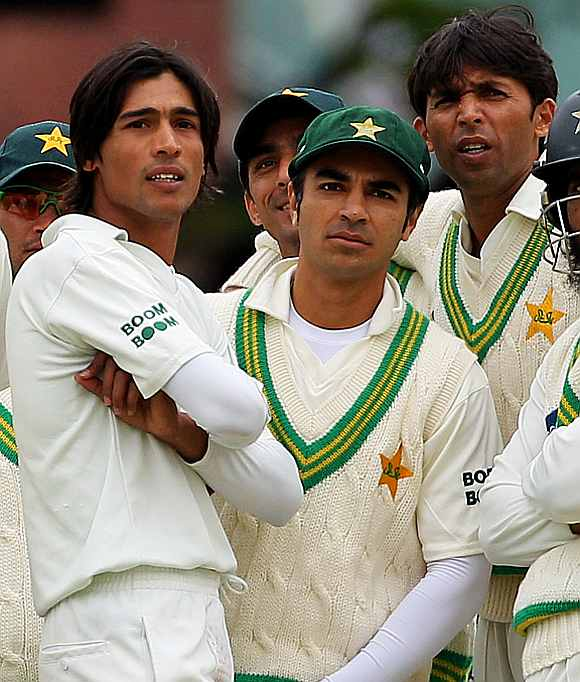 Salman Butt, Mohammad Amir and Mohammad Asif