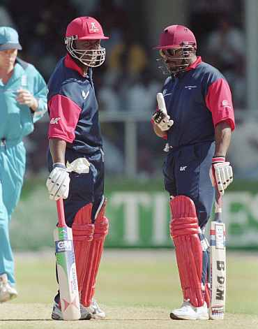 Gordon Greenidge and Desmond Haynes