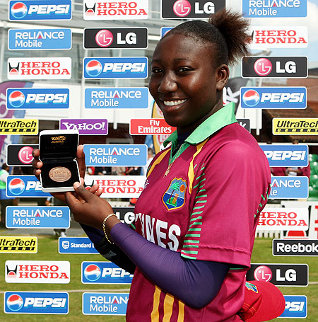 Stafanie Taylor of the West Indies