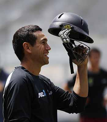 Ross Taylor has a task at hand