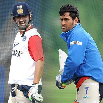 'Dhoni miffed with Gambhir's attitude and on-field ethics'