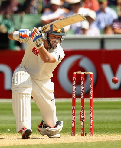 Hussey scored 864 runs in 10 Tests, including four hundreds