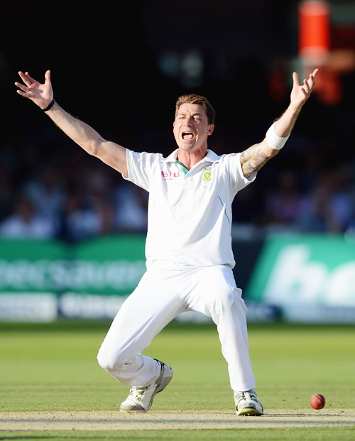 Dale Steyn heads the bowlers' table