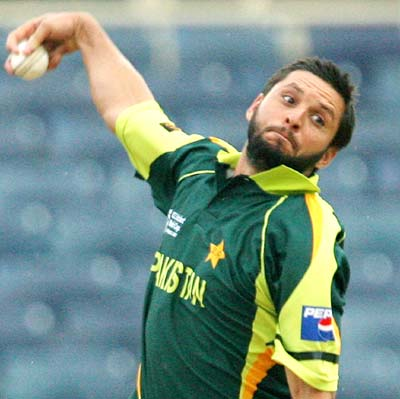 Afridi had most five-wicket hauls