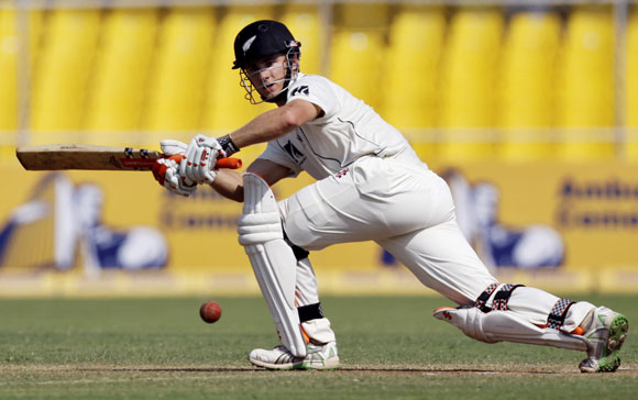 Williamson made a nine ball duck against India on debut