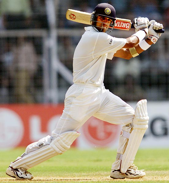 Dravid did a commendable job as captain